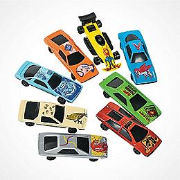 Toy Cars <br/>& Vehicles