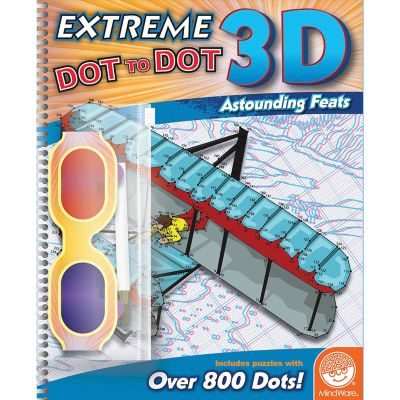 Extreme Dot to Dot 3D: Astounding Feats - 2017 Edition from Mindware from Mindware.com Product Image