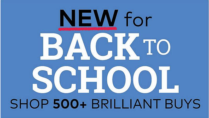 New for back to school, shop 500+ brilliant buys