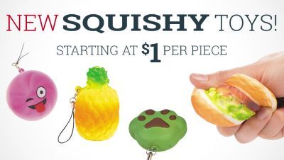 Squishy Toys - Starting at $1