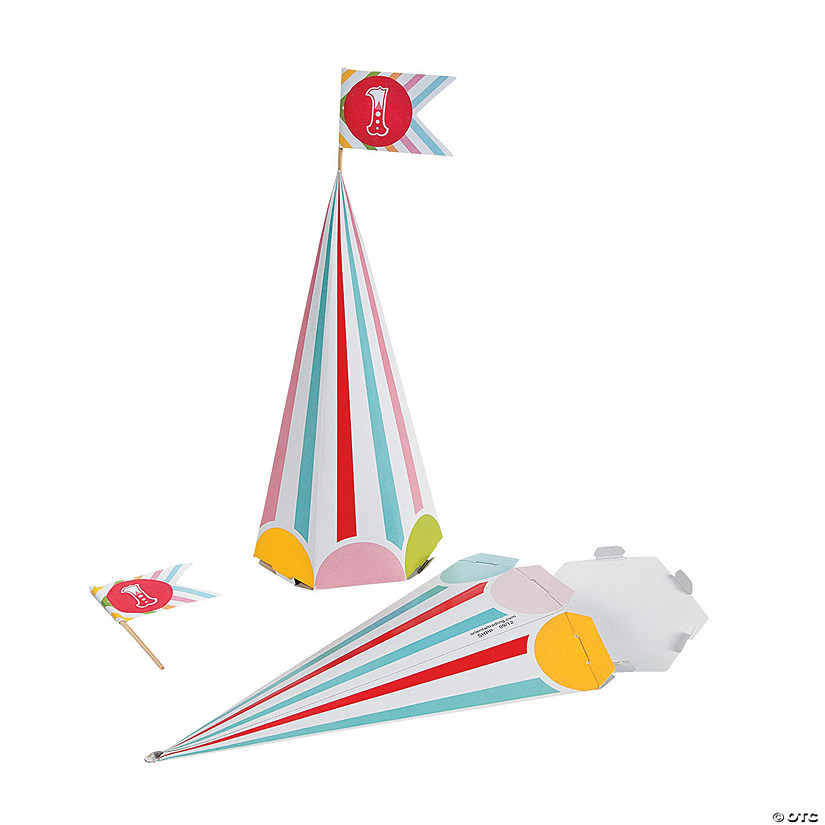 1st Birthday Circus Favor Boxes
