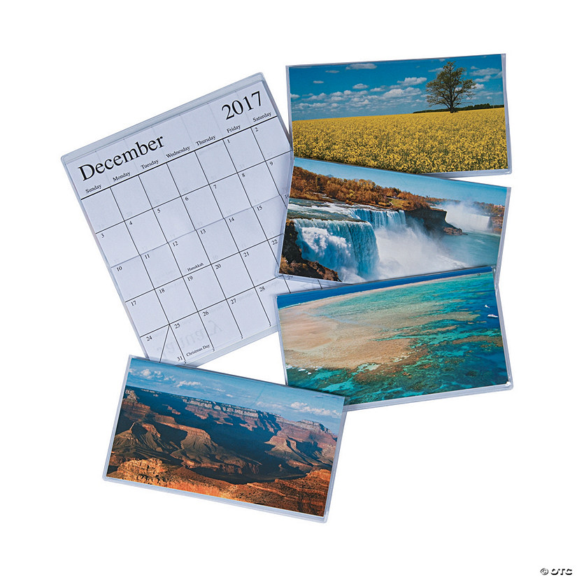 2017 - 2018 Beautiful America Pocket Calendars