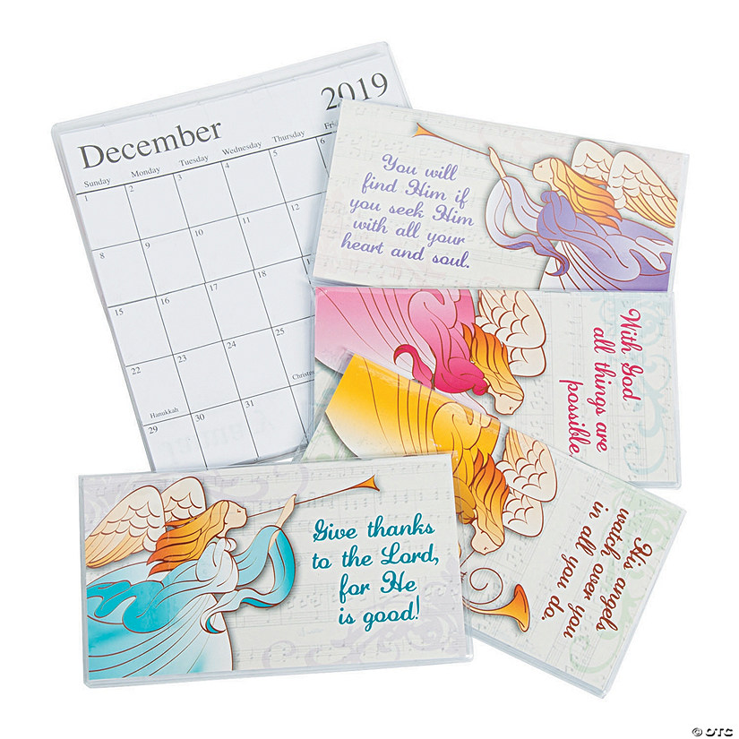 2019 - 2020 Angel Pocket Calendars