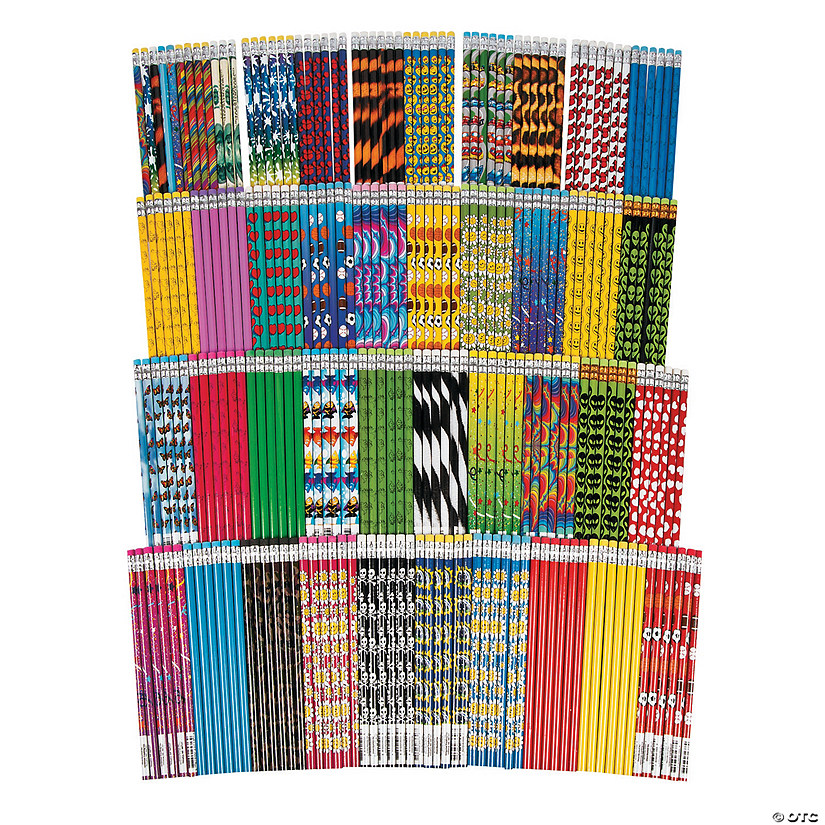 250 Pc. Super Mega Pencil Assortment