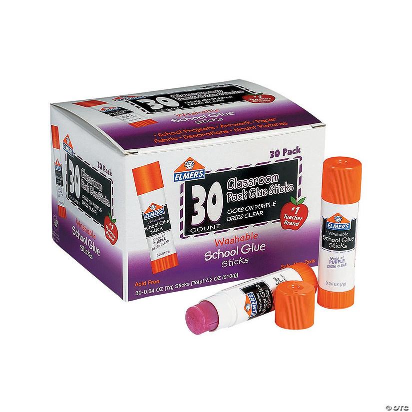 30 Pc Elmer S 174 Classroom Pack Purple Glue Sticks