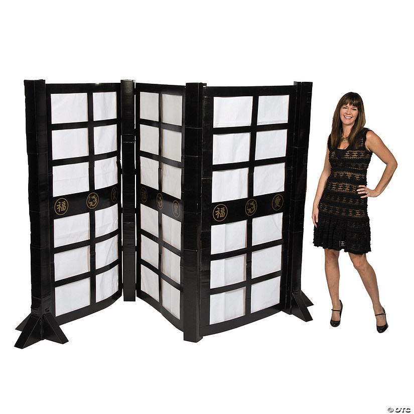 3D Asian Screen Cardboard Stand-Up
