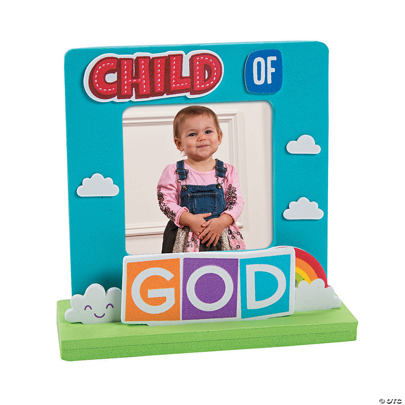 3D Child of God Picture Frame Craft Kit