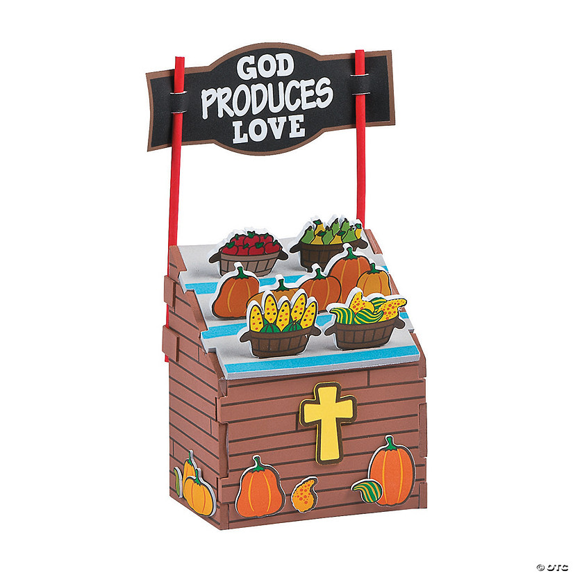 3D Faith Fall Market Stand Craft Kit
