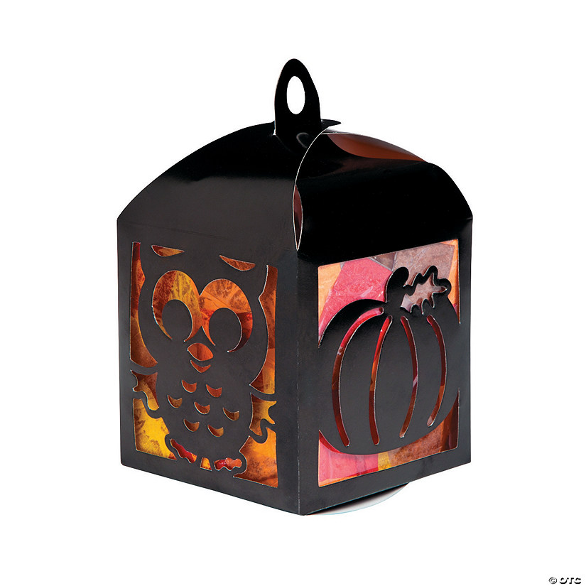 3D Fall Tissue Paper Lantern Craft Kit