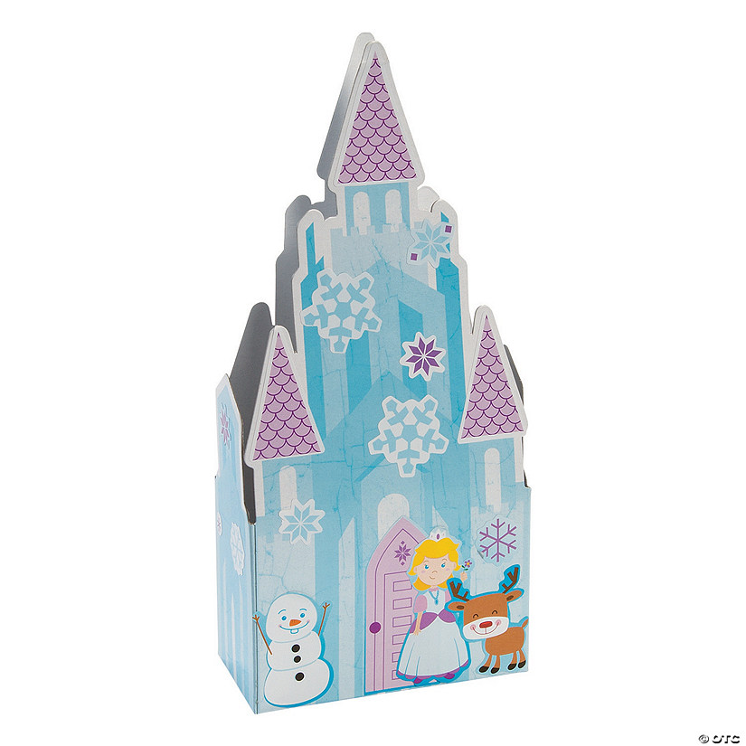 3D Ice Castle Sticker Scenes