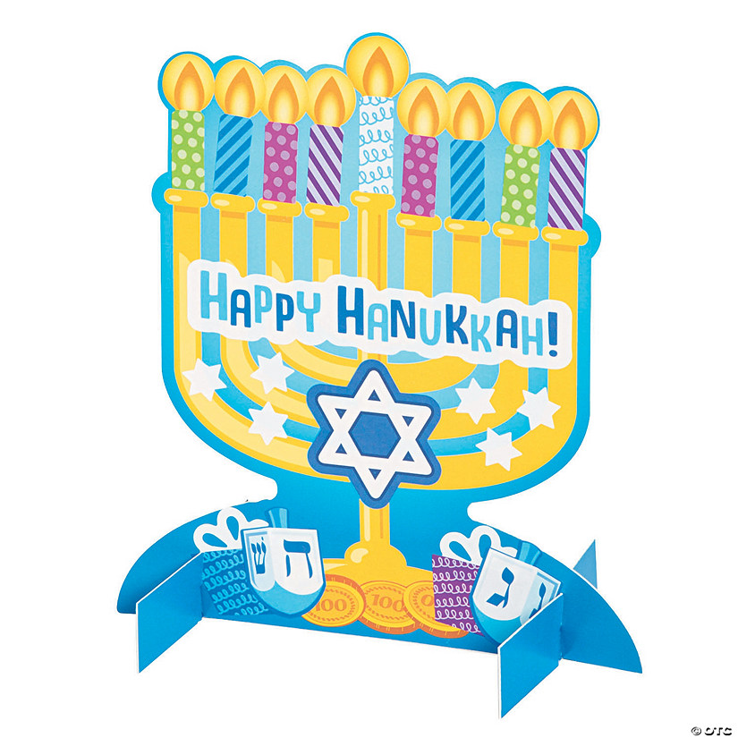 3D Menorah Sticker Scenes