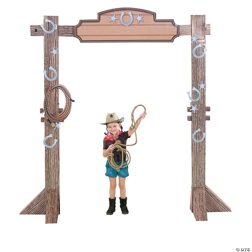 3D Western Ranch Entry Arch