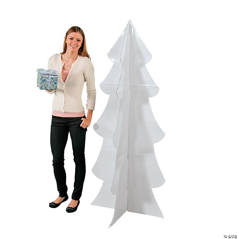 3D Winter Tree Cardboard Stand-Up