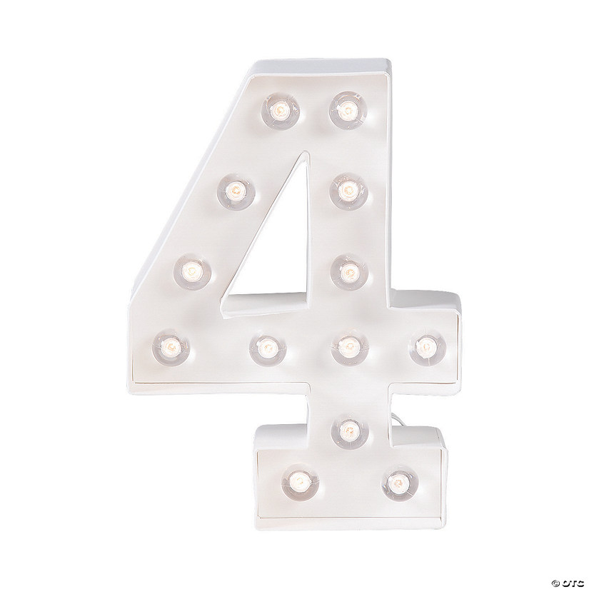 """4"" Marquee Light-Up Kit"
