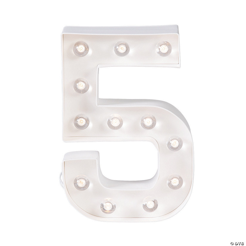 """5"" Marquee Light-Up Kit"