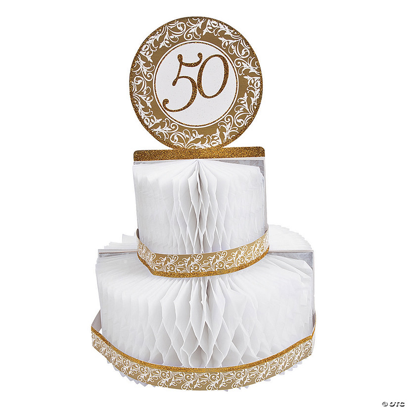 50th Anniversary Centerpiece