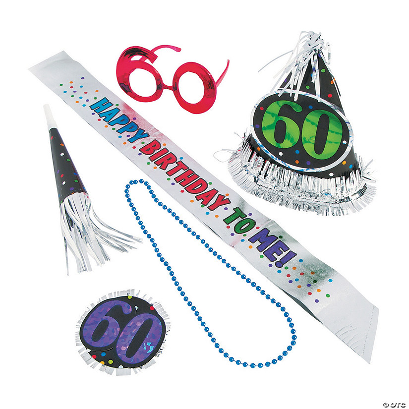 60th Birthday Celebration Kit