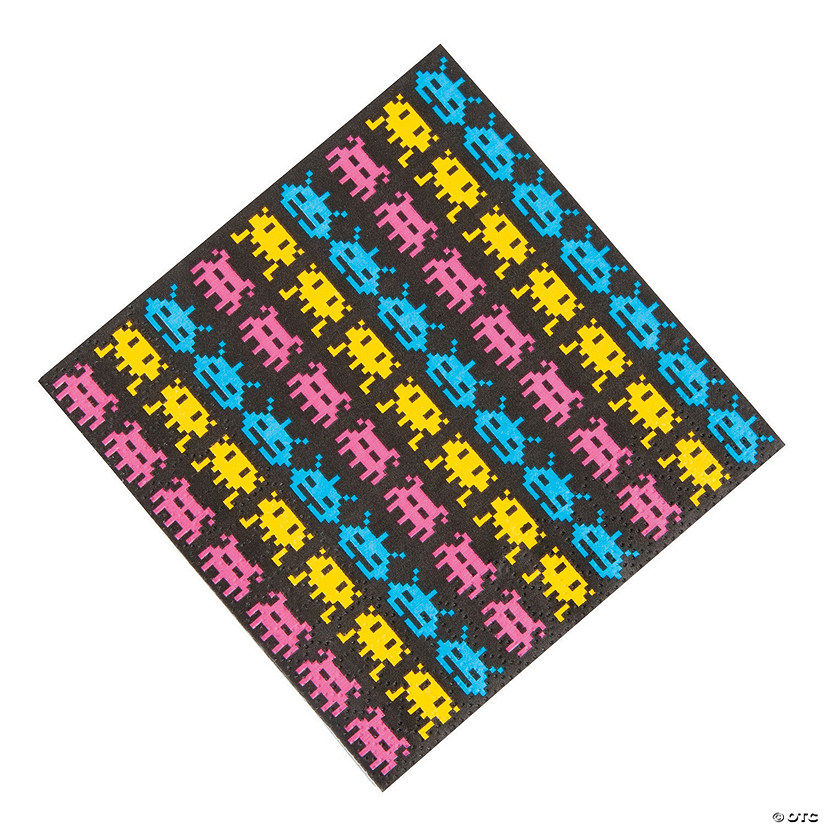 80's Party Beverage Napkins