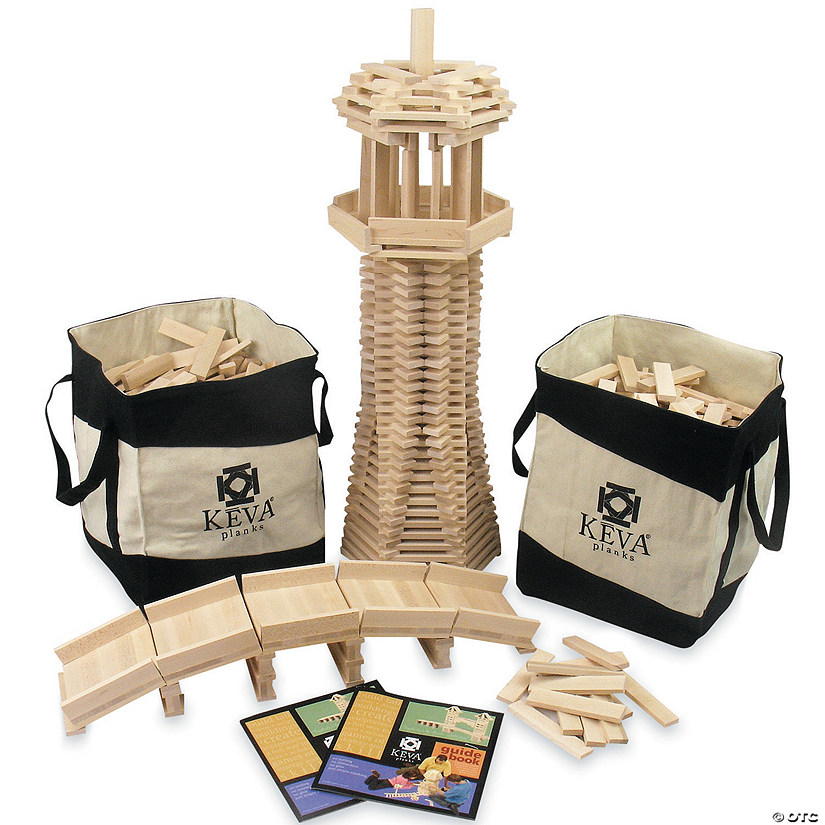 800 KEVA Maple Planks School Pack