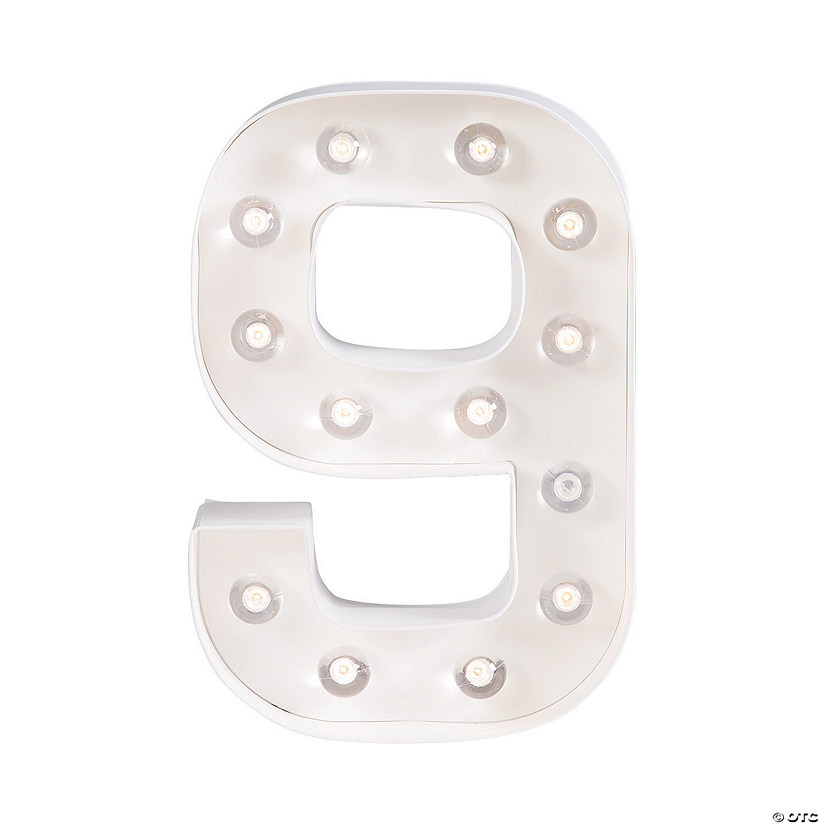 """9"" Marquee Light-Up Kit"