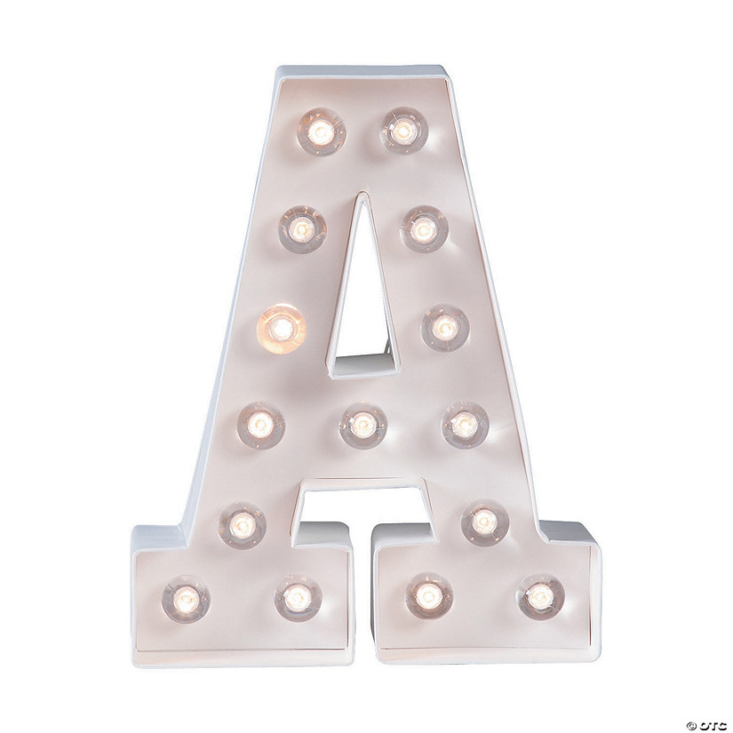 """A"" Marquee Light-Up Kit"