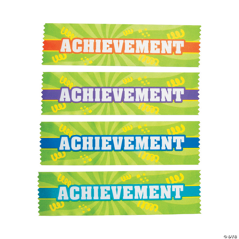 Achievement Ribbons