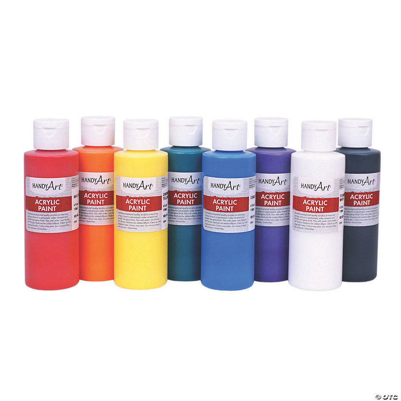 Acrylic Paint Set - 4 oz.