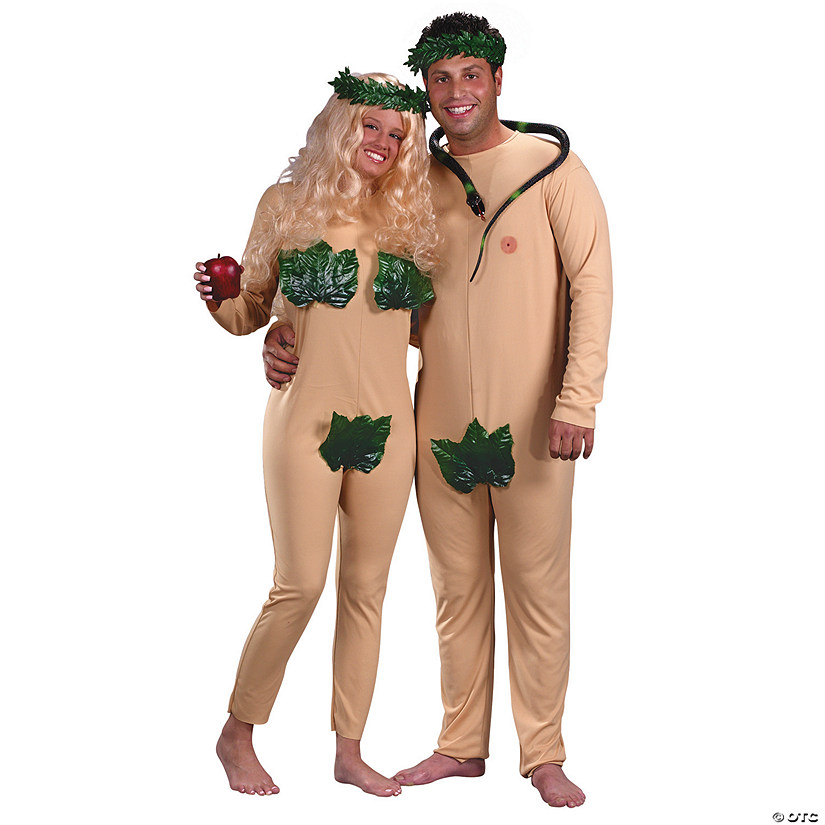 Adam and Eve Couple's Costume