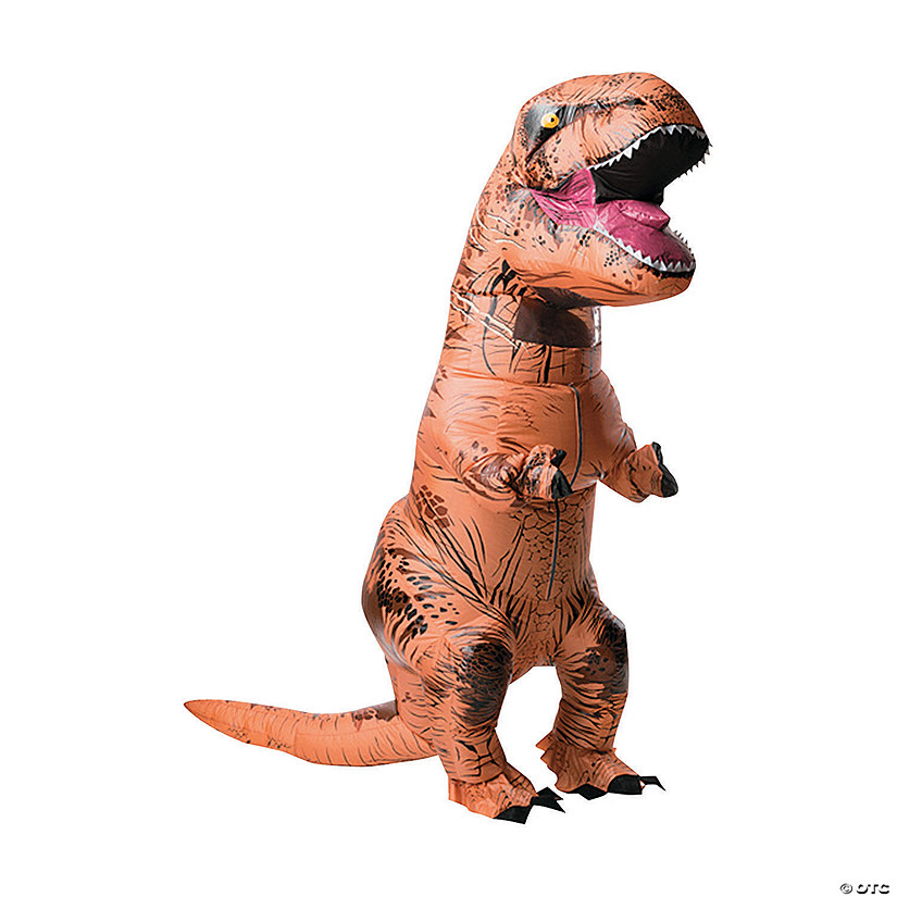 Adult's Inflatable T-Rex Costume with Sound Box