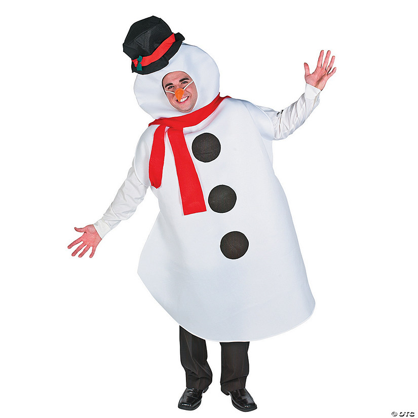 Adult's Large Snowman Costume