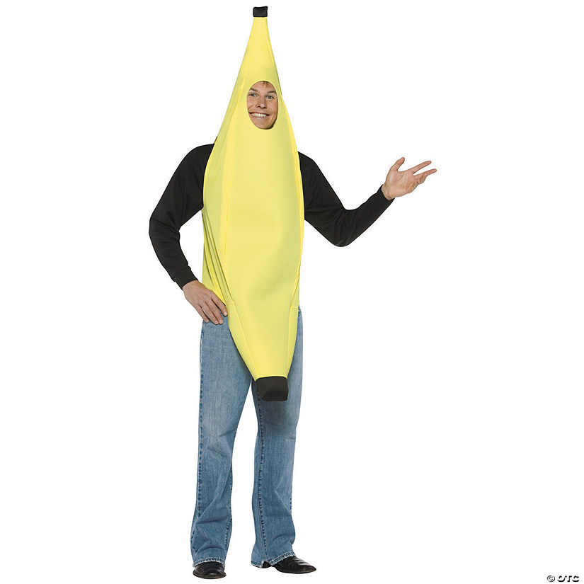 Adult's Banana Costume
