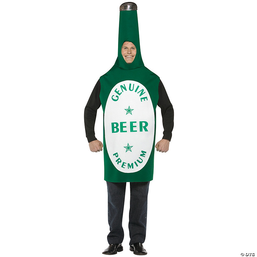 Adult's Beer Bottle Costume