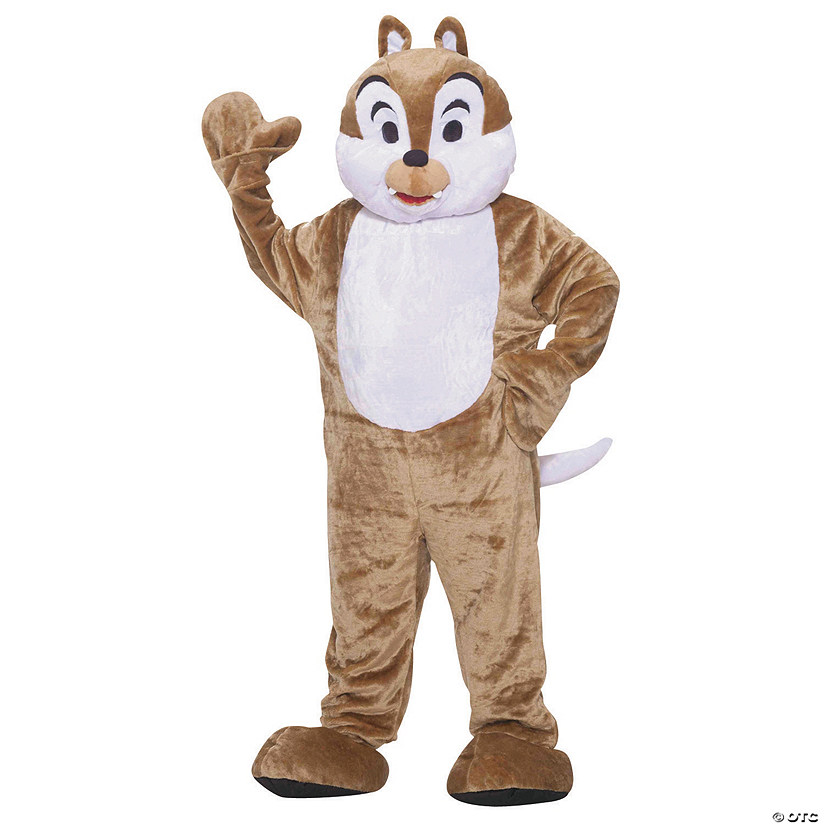 Adult's Chipmunk Mascot Costume