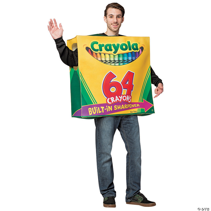 Adult's Crayola Crayon Box Costume