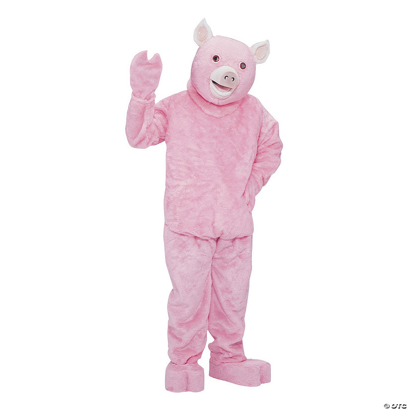 Adult's Deluxe Complete Pig Mascot Costume