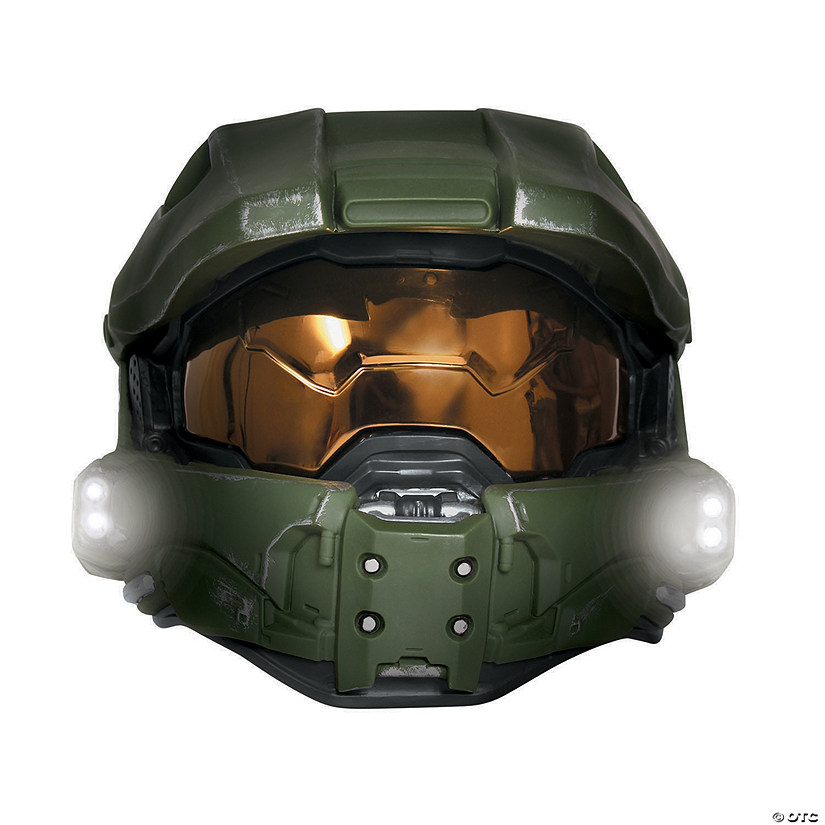 Adult's Deluxe Light-Up Master Chief Mask