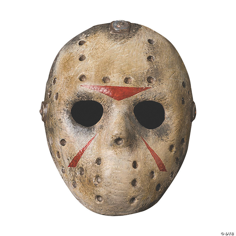 Adult's Deluxe Molded Jason Mask