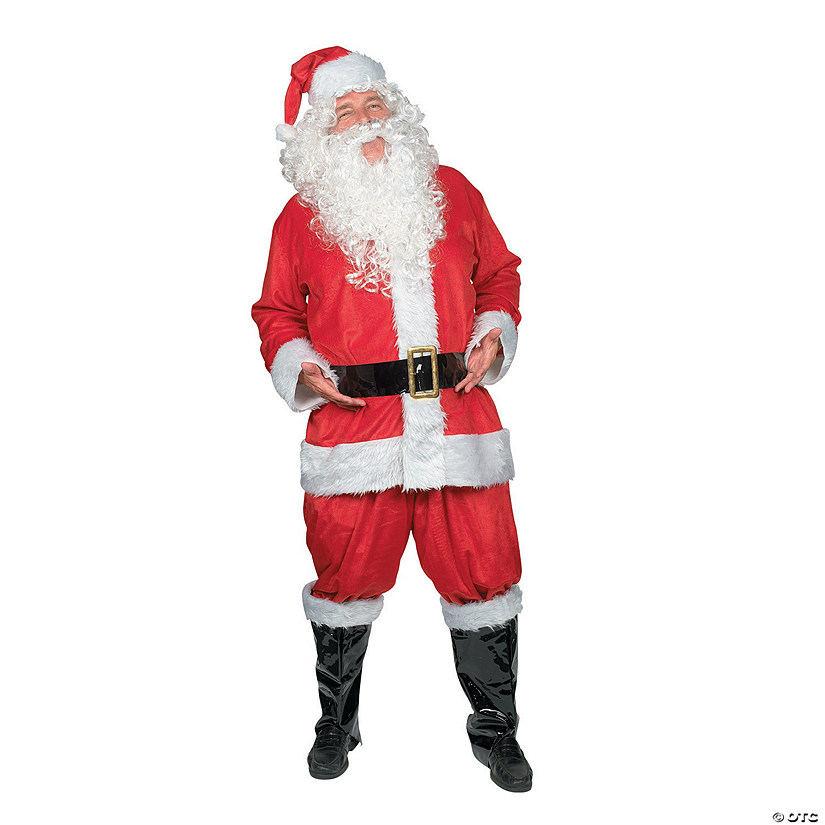 Adult's Deluxe Santa Suit Costume