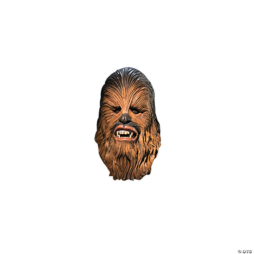Adult's Deluxe Star Wars™ 2-Piece Chewbacca Mask