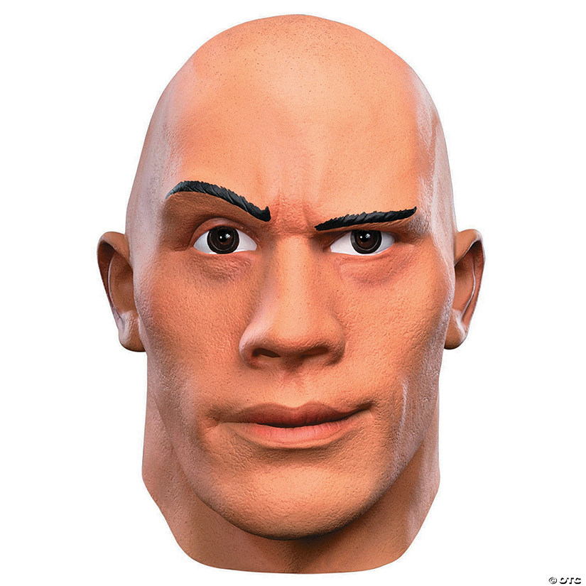 Adult's Deluxe The Rock Mask