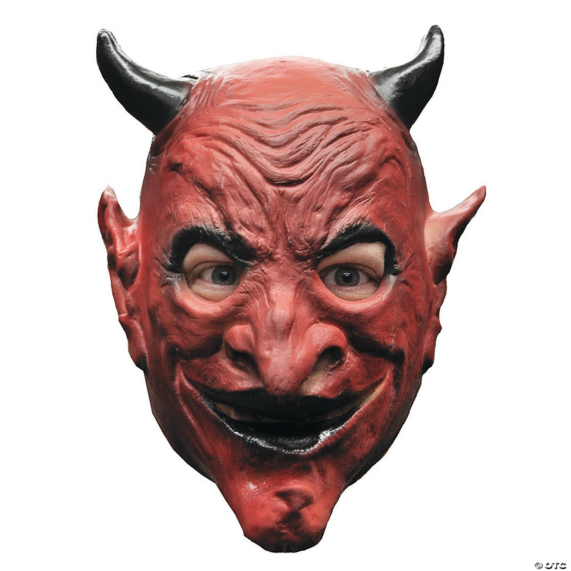 Adult's Devil Mini Monster Mask