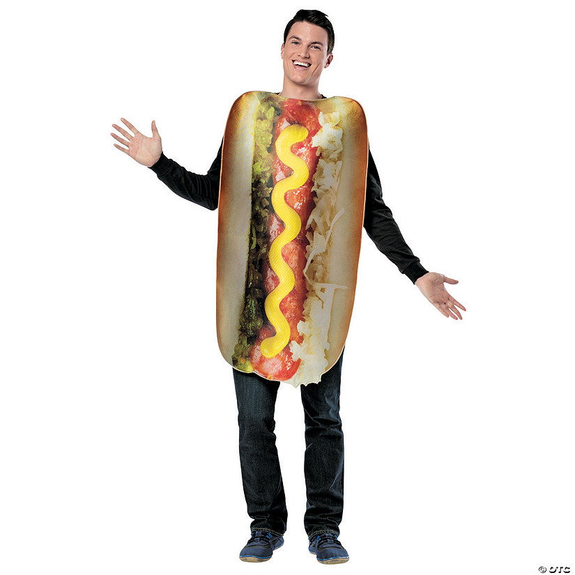 Adult's Get Real Loaded Hot Dog Costume