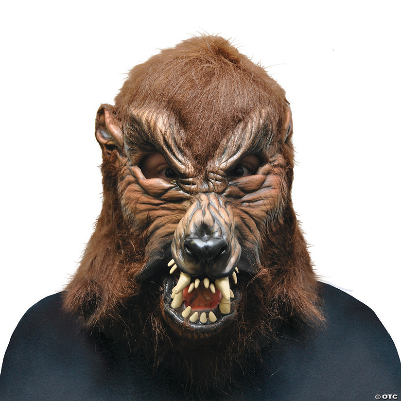 Adult's Howl O Ween Werewolf Mask