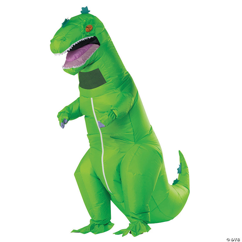 Adult's Inflatable Reptar Rugrats Costume