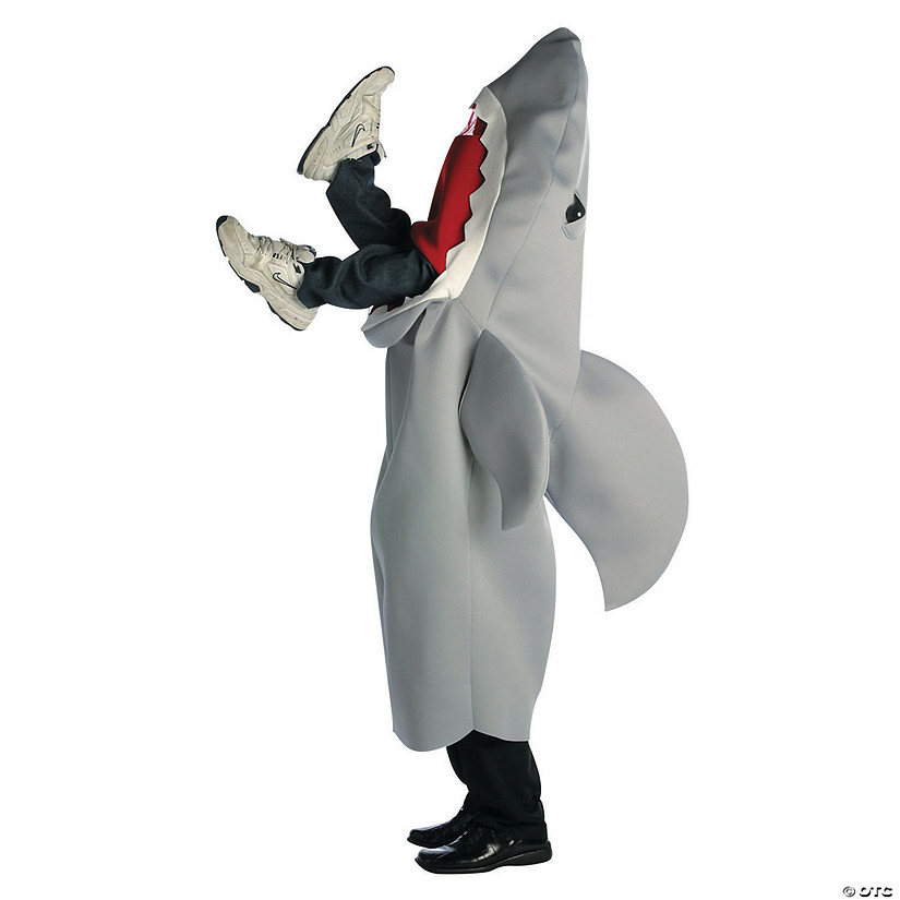 Adult's Man Eating Shark Halloween Costume