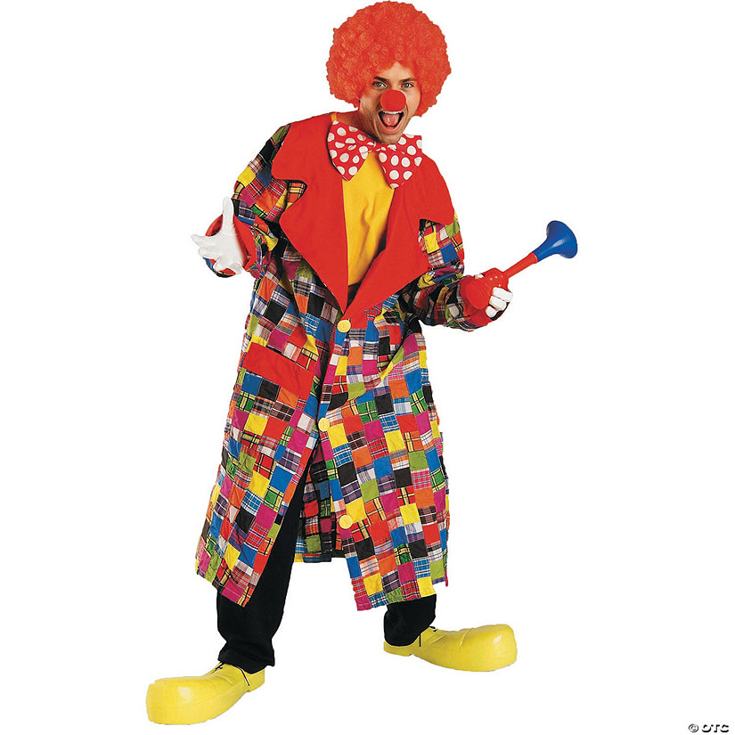 Adult's Patches The Clown Costume