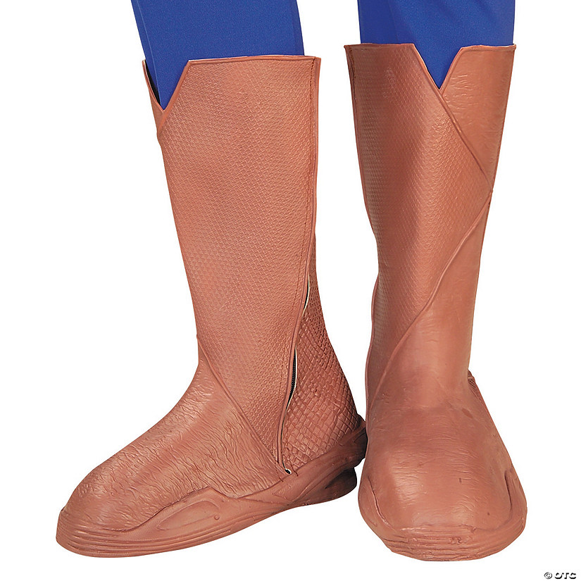 Adult's Superman™ Deluxe Boot Tops