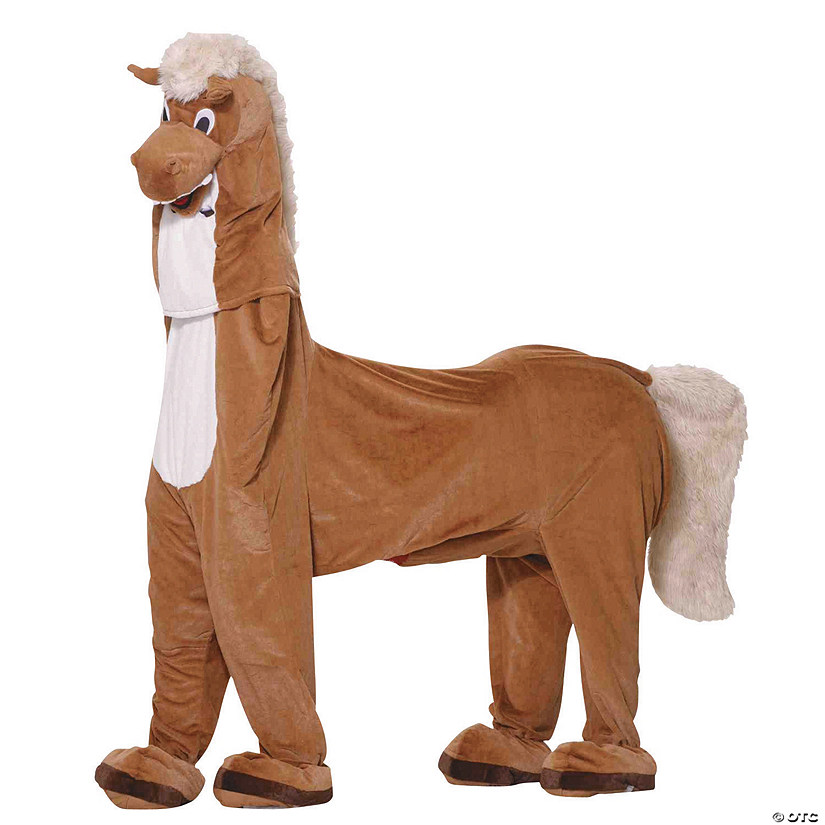Adult's Two-Man Horse Mascot Costume