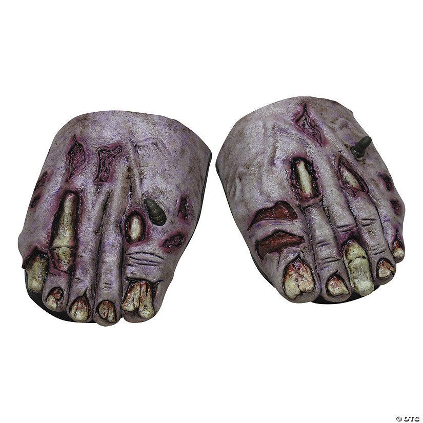 Adult's Zombie Undead Feet Cove