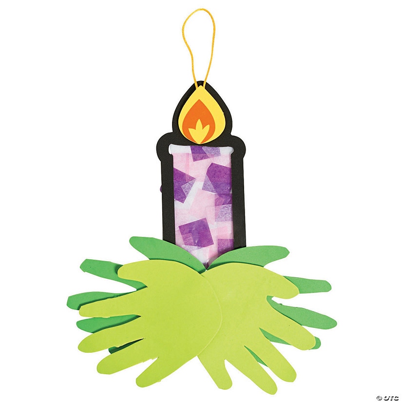 Advent Candle Tissue Paper Craft Kit